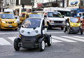 Автомобиль Nissan Mobility Concept в Нью-Йорке