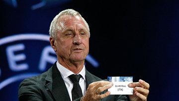 Голландский футболист и тренер Йохан Кройф