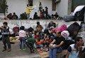 Мигранты с Ближнего Востока в Стамбуле