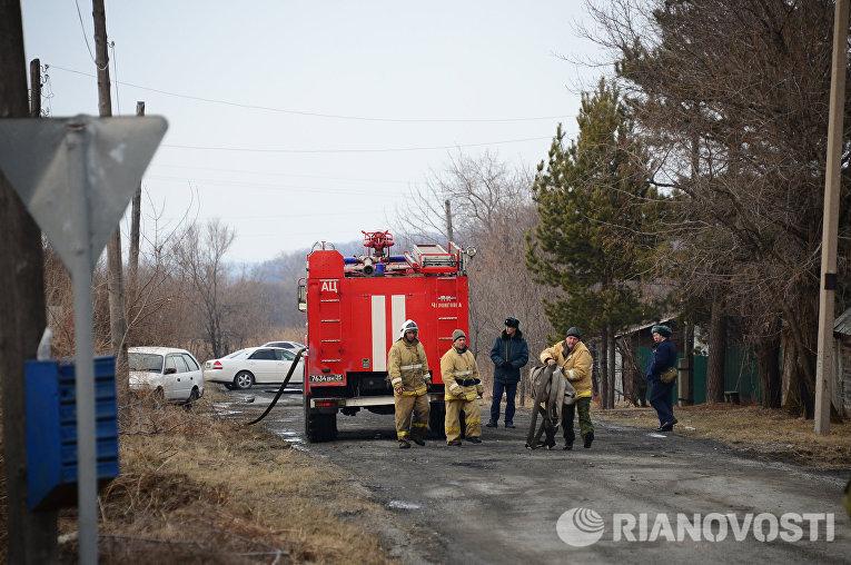 Российский штурмовик Су-25 разбился в Приморье
