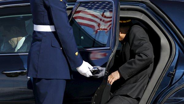 Прибытие мировых лидеров на саммит по ядерной безопасности