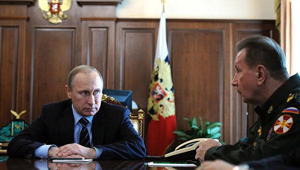 Президент РФ Владимир Путин провел совещание в Кремле