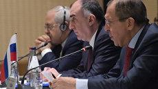 Трехсторонняя встреча министров иностранных дел России, Азербайджана и Ирана