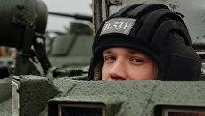 Военнослужащий российской армии, архивное фото