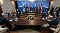 Встречи глав делегаций Евразийского межправительственного совета. Архивное фото