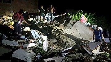Последствия землетрясения в Эквадоре 16 апреля 2016