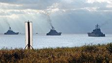 Балтийский флот РФ готов к заключительной фазе учений Запад-2009
