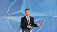 Генеральный секретарь НАТО Йенс Столтенберг. 20 апреля 2016. Архивное фото