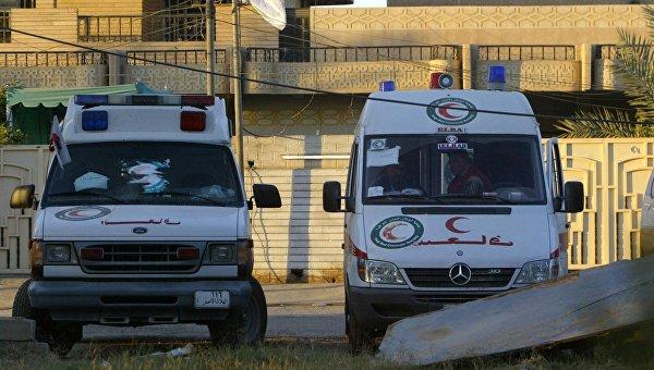 Кареты скорой помощи в Ираке. Архивное фото