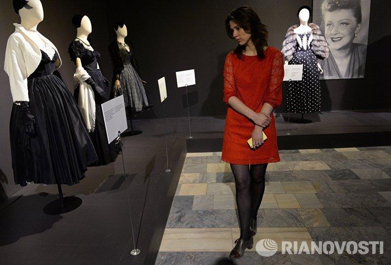 Открытие выставки Кино и мода. Платья знаменитых киноактрис из фонда Александра Васильева