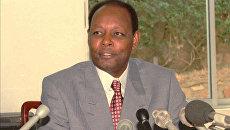 Бывший президент Бурунди Жан-Батист Багаза