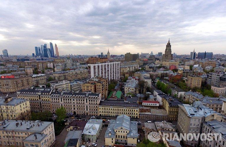 Вид на Москву. Архивное фото