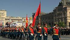 Самые яркие моменты парада Победы на Красной площади в Москве