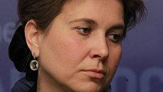 Генеральный секретарь Российского Союза ректоров Ольга Каширина на онлайн-конференции
