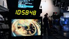 В павильоне первой студии программы Вести. Архивное фото