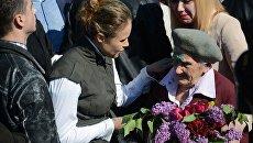 Бабушка-ветеран, которую в Киеве 9 мая облили зеленкой