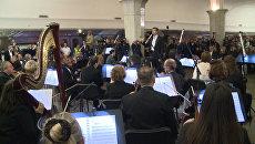 Опера в подземке: как прошел ночной концерт в московском метро