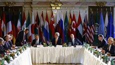 Переговоры по Сирии. Архивное фото