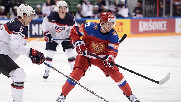 Хоккей. Чемпионат мира. Матч за третье место между сборными командами России и США