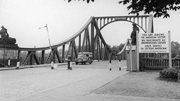 Глиникский мост или Мост Единства, именно здесь советского разведчика Рудольфа Абеля обменяли на американского пилота U2 Фрэнсиса Гэри Пауэрса