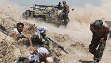 Иракские проправительственные силы во время противостояния с боевиками ИГ. Архивное фото