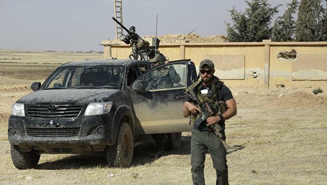 Американский спецназ в Сирии