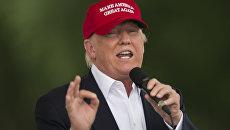 Кандидат в президенты США от Республиканской партии Дональд Трамп в Вашингтоне, США. Архивное фото