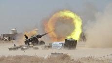 Бойцы шиитского ополчения ведут бои за Эль-Фаллуджи