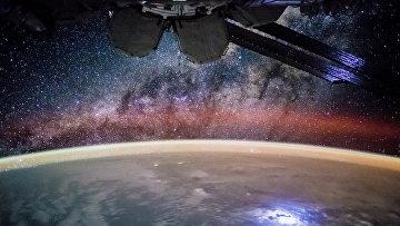 Планета Земля снятая с МКС. Архивное фото