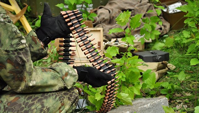 Схрон боеприпасов на Донбассе. Архивное фото