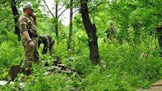 Сотрудники МВД ЛНР обнаружили схрон украинских диверсантов