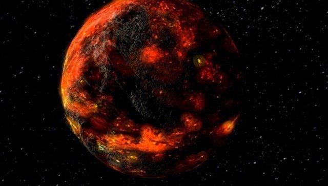 Новорожденная Луна
