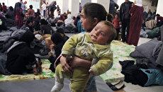 Сирийские беженцы. Архивное фото