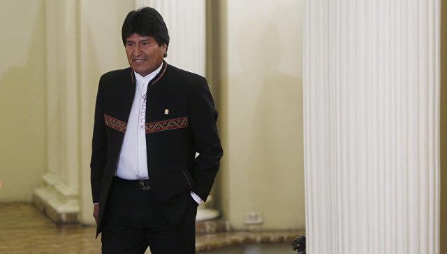 Президент Боливии выдвинет свою кандидатуру еще наодних выборах