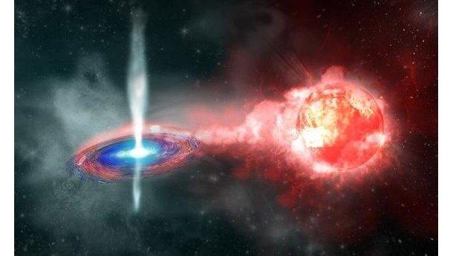 Сверхновая типа Ia до взрыва. Архивное фото