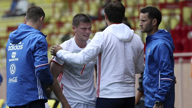 Футбол. Товарищеский матч. Россия – Сербия