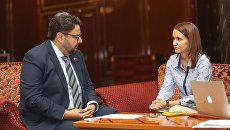 Директор международных офисов ТПП Дубая Омар Хан