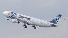 Самолет авиакомпании EgyptAir. Архивное фото