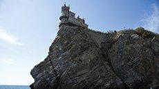 Памятник архитектуры Ласточкино гнездо в Ялтинском районе Крыма