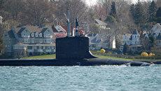 Mississippi - американская подводная лодка класса Virginia. Архивное фото