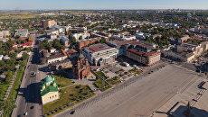 Панорама города Тулы. Архивное фото