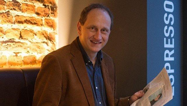 Заместитель председателя Европейского парламента Александр Граф Ламбсдорф. Архивное фото