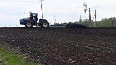 Будущее сельского хозяйства: первый беспилотный трактор вышел в поля