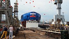 На Балтийском заводе в Санкт-Петербурге. Архивное фото