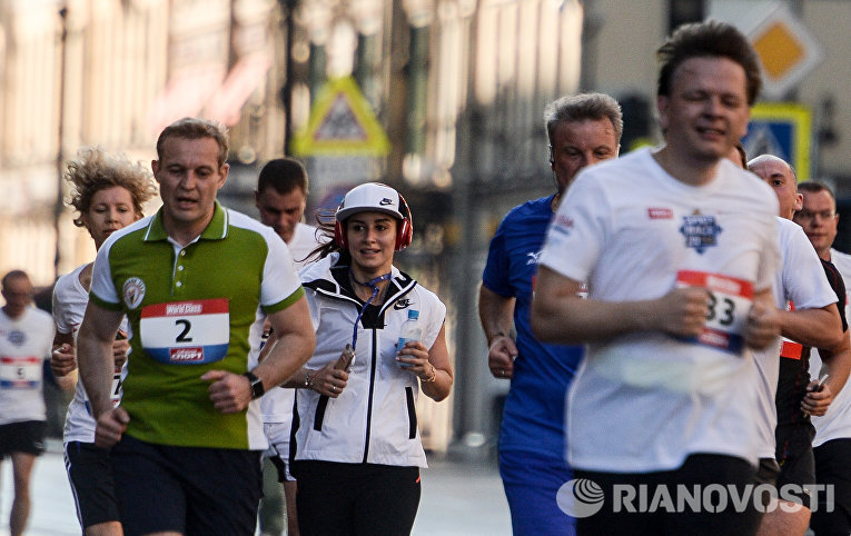 Забег SPIEF Race в рамках ПМЭФ