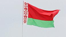 Флаг Беларуси. Архивное фото