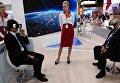 Павильон Новороссийского морского торгового порта выставке SPIEF Investment & Business Expo