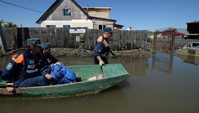 МЧС: неменее 800 населенным пунктам вСибири угрожает подтопление