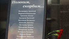 Фамилии и имена погибших детей на Сямозере в Карелии. Архивное фото