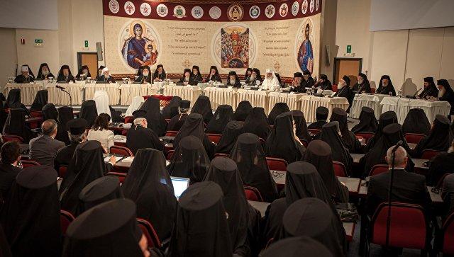 Собор православных церквей на Крите. Июнь 2016